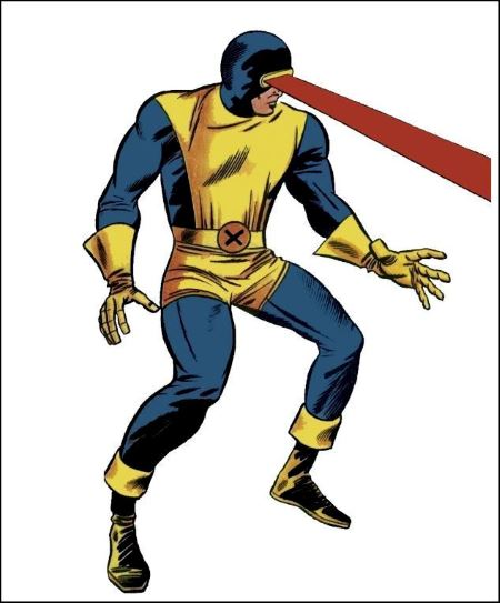 cyclops, the x-men, fantastic comic.