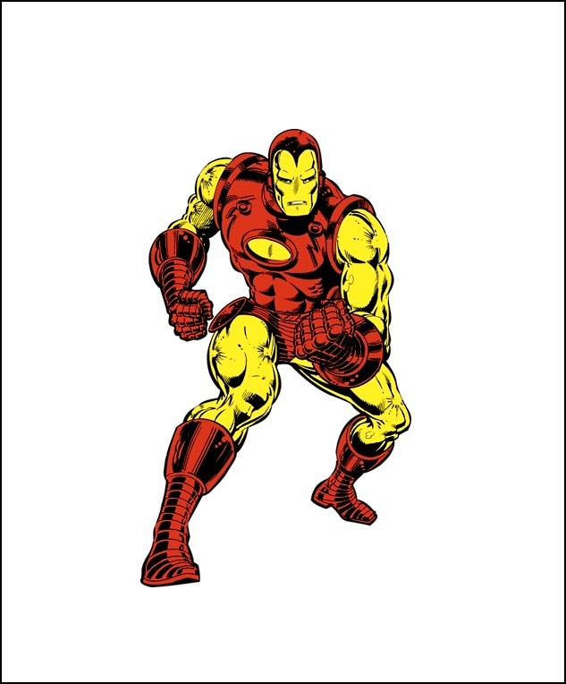 Stan Lee, Tony Stark, Iron Man, Terrific Comic.