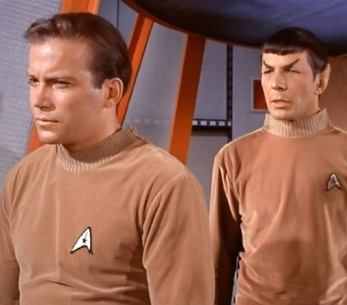 Star Trek, Gene Roddenberry, Captain Kirk, Mr Spock.