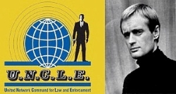 The Man From Uncle, Illya Kuryakin, Napolean Solo.